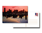 "POSTCARDS: 4"" X 4"" 16PT Postcards with Full UV on the front only, No UV Coating on the back"
